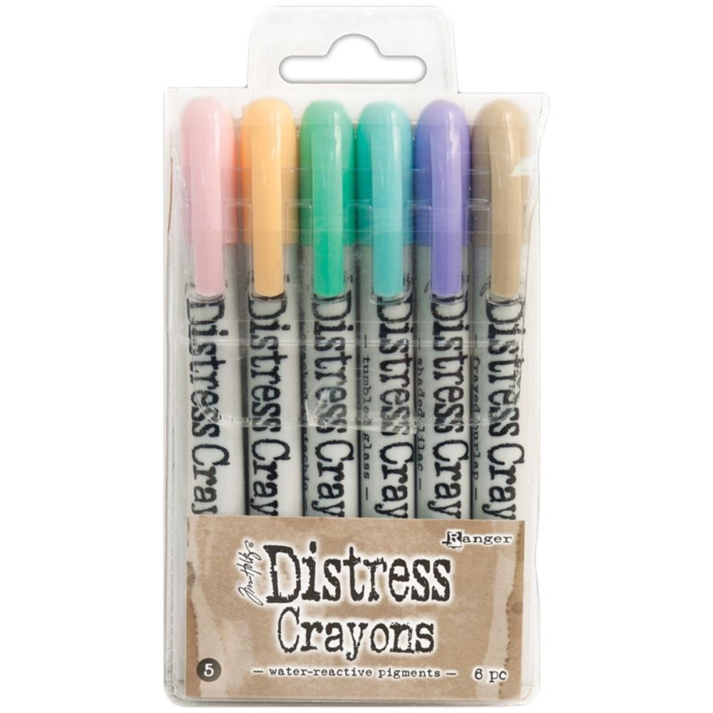 Set Distress Crayons #5