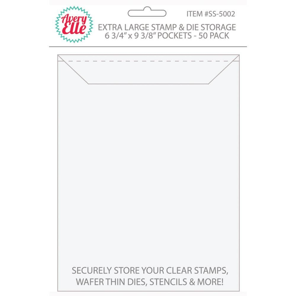 "Enveloppes Pour tampons - Extra Large 6.75"" x 9.25"""