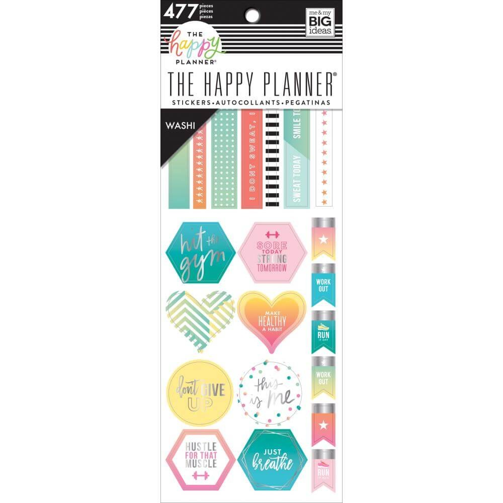 Carnet de Washi Tape Fitness