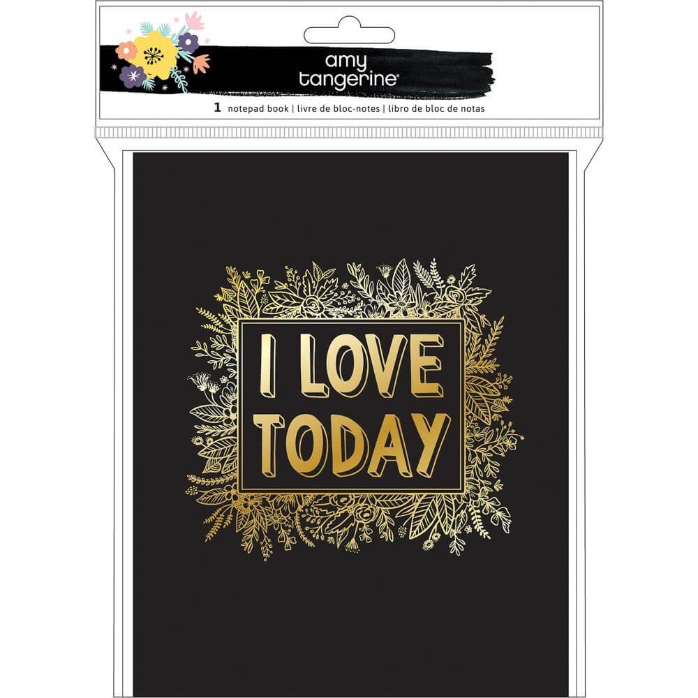 Cahier Amy Tangerine Shine On I Love Today
