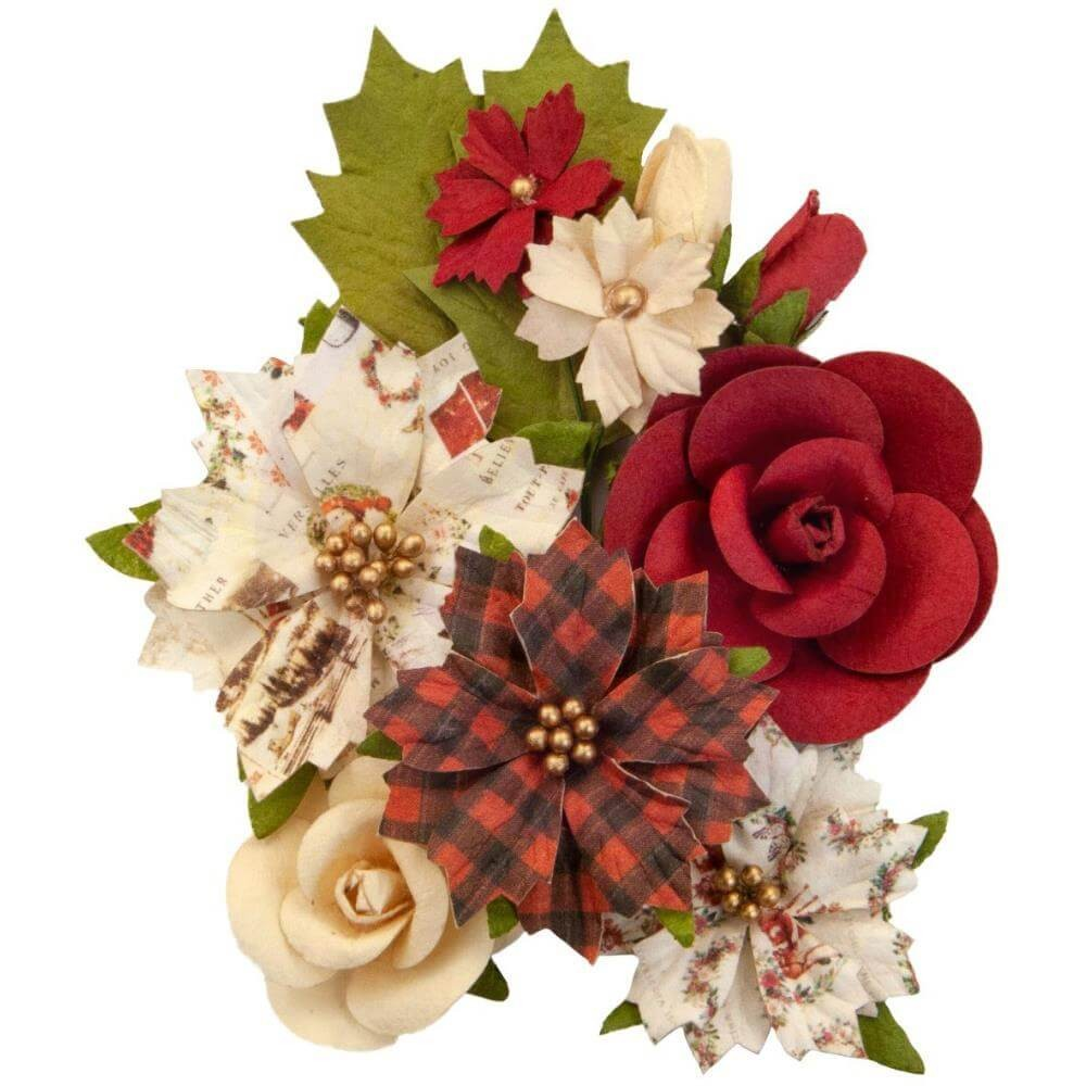 Fleurs en Papier Christmas In The Country Christmas Song