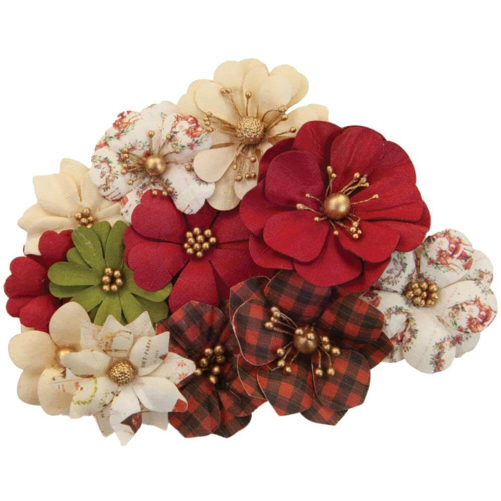 Fleurs en Papier Christmas In The Country St. Nick