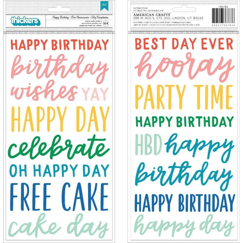 Thickers Happy Cake Day Phrase