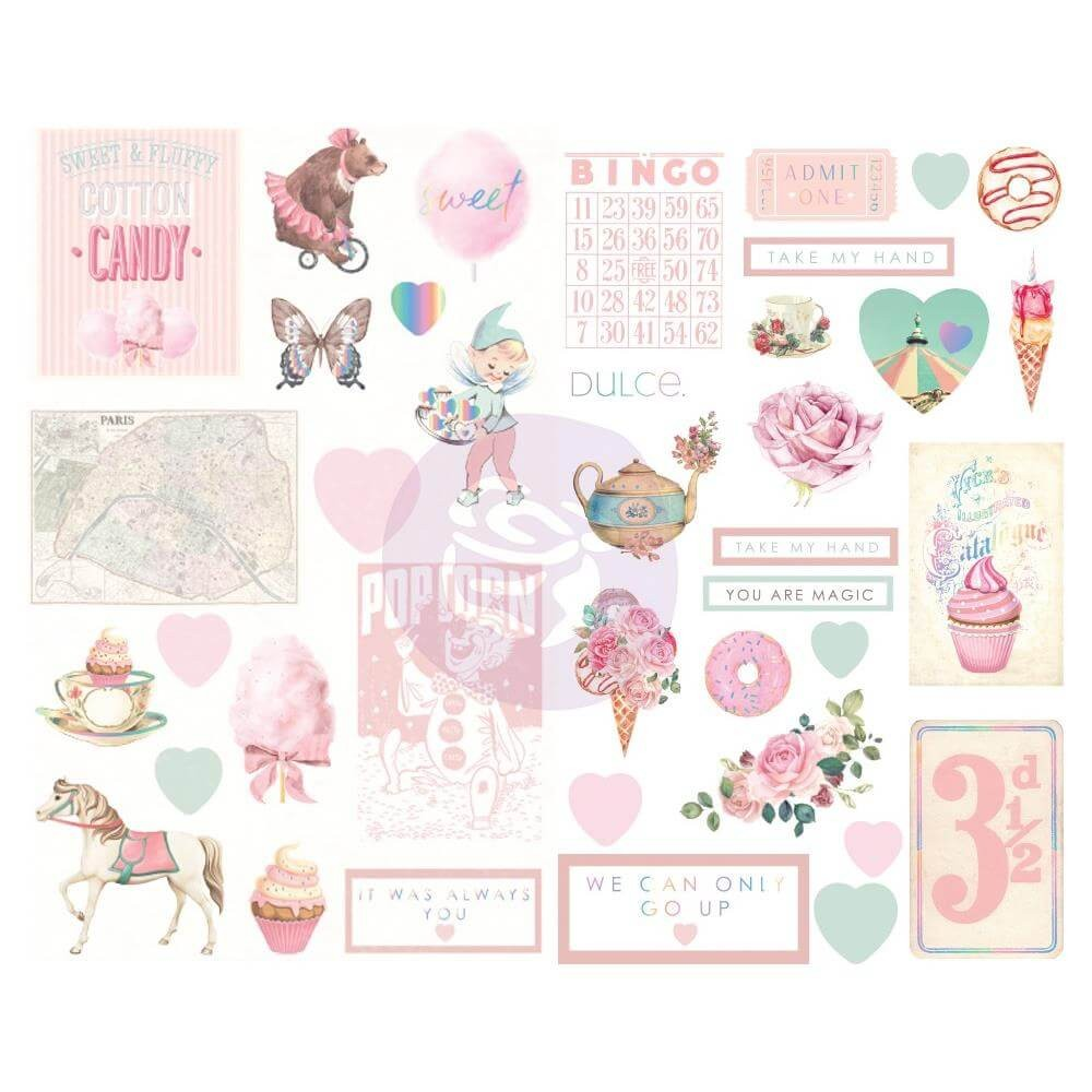 Chipboard Dulce Icona