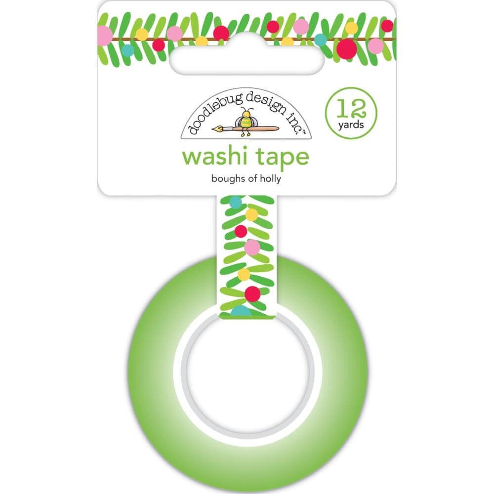 Washi Tape Christmas Magic Boughs Of Holly