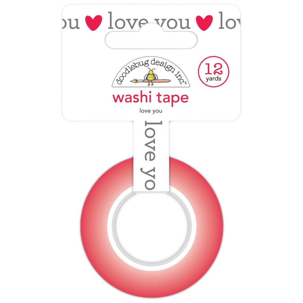 Washi Tape Love Notes Love You