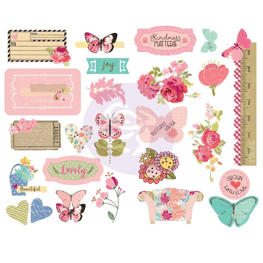 Chipboard Butterfly Bliss Julie Nutting