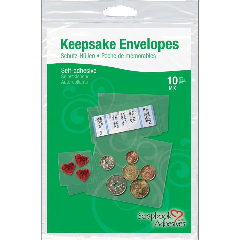 10 Keepsake Envelopes
