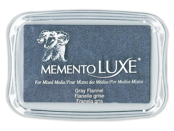 Encre Memento Luxe Gray Flannel