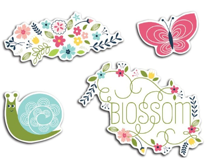 Welcome Spring Blossom Die-Cuts