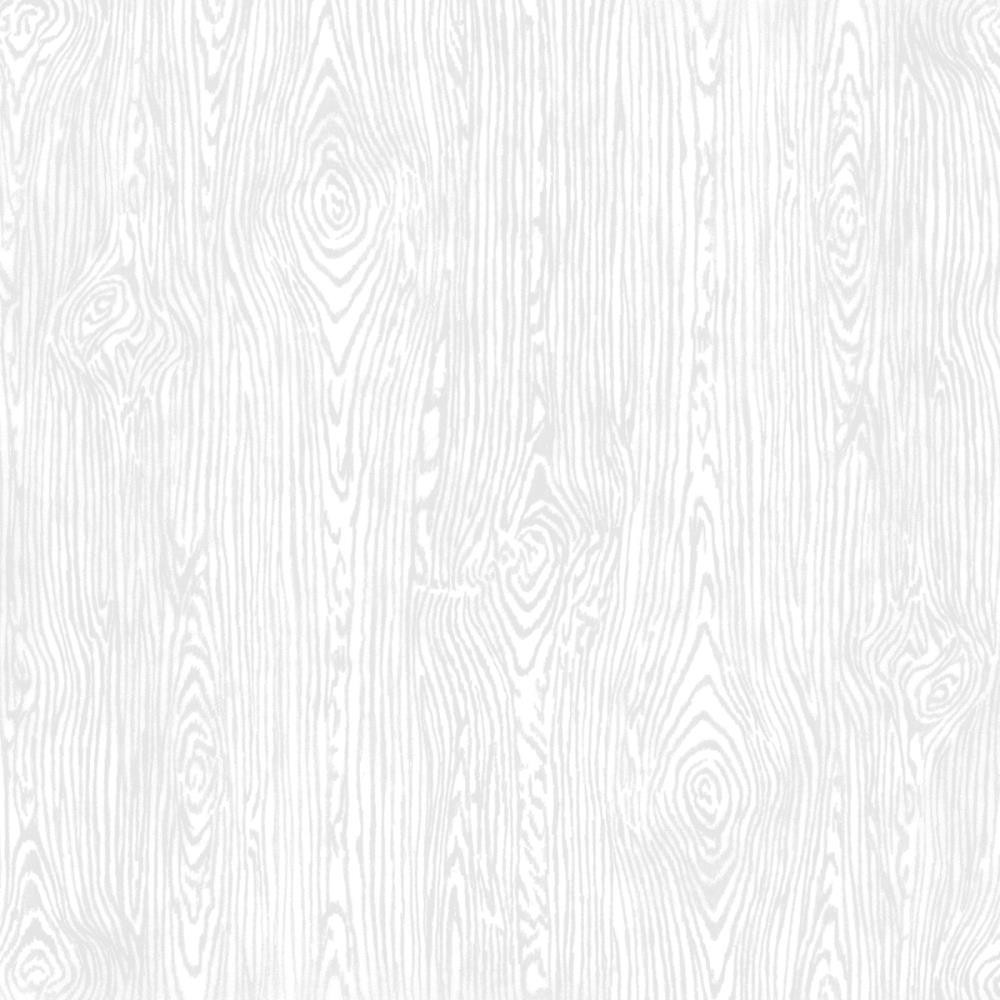 Papier Unis Woodgrain 12x12 White
