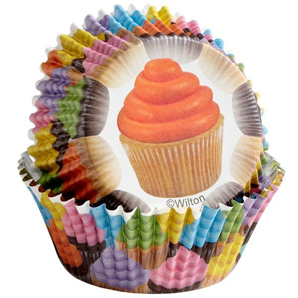Color Cups Cupcakes