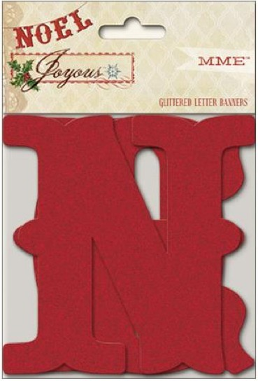 Die cuts Letter Banners