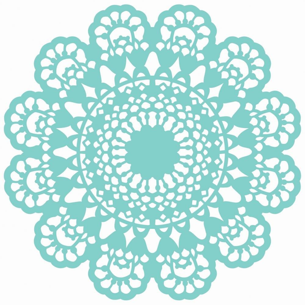 Lace Doily 12x12 Template