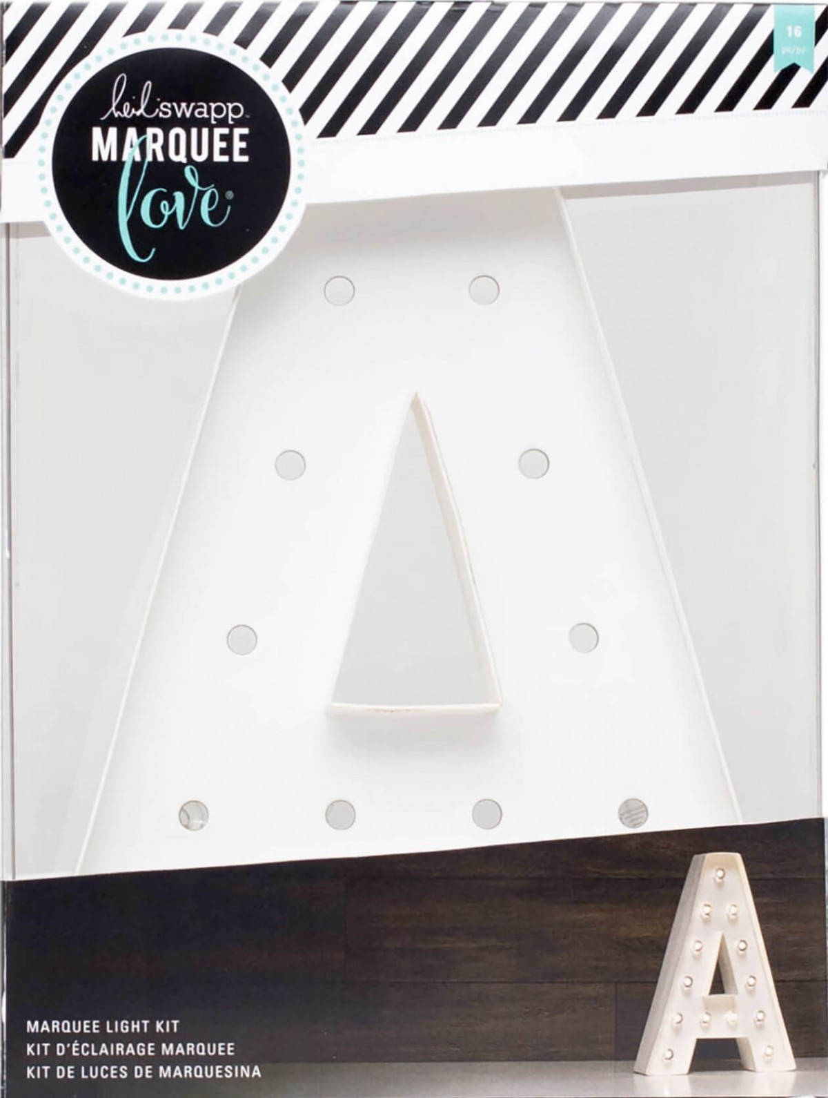 """Lettre Marquee Love 12"""" A"""
