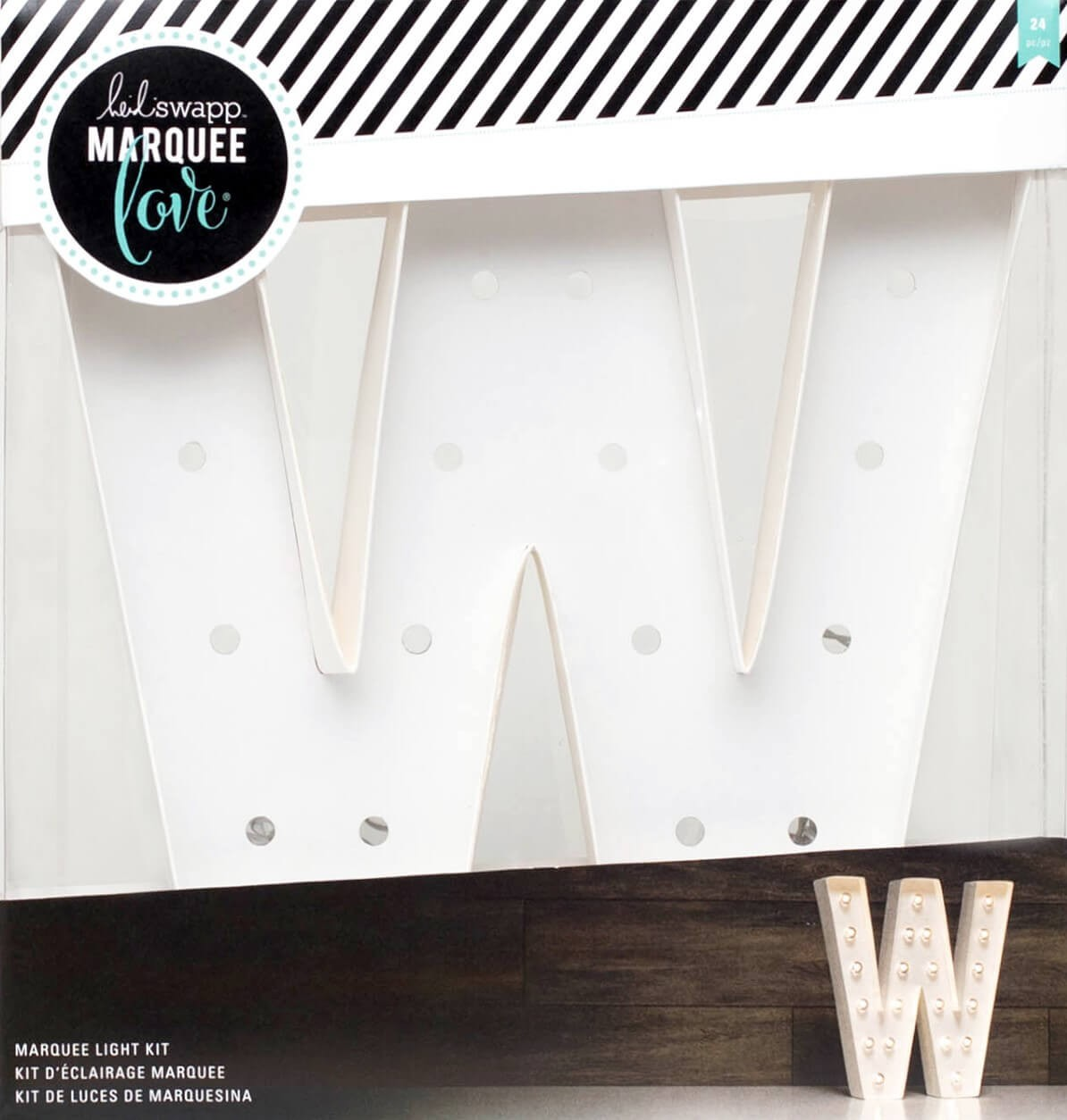 """Lettre Marquee Love 12"""" W"""