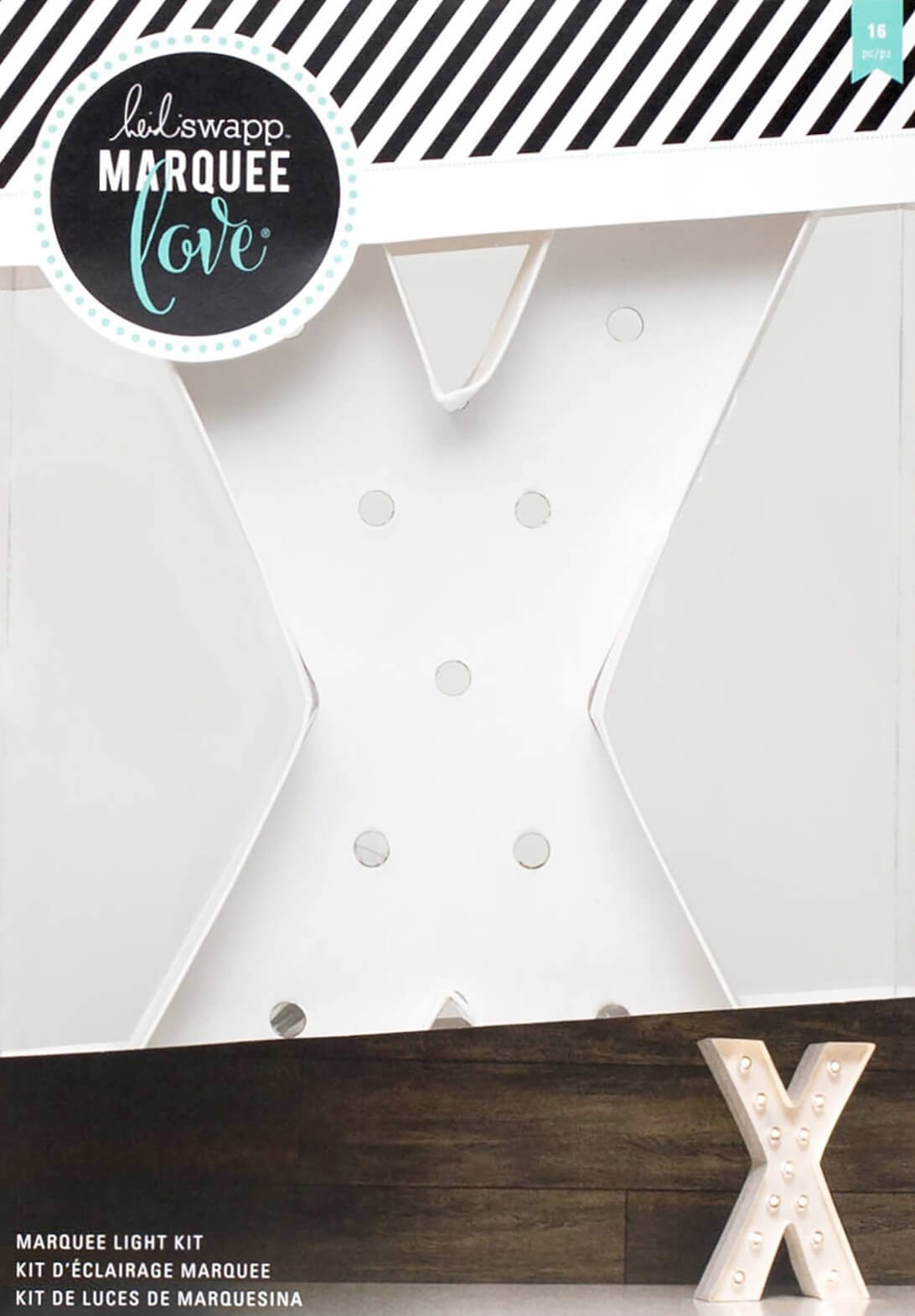 "Lettre Marquee Love 12"" X"
