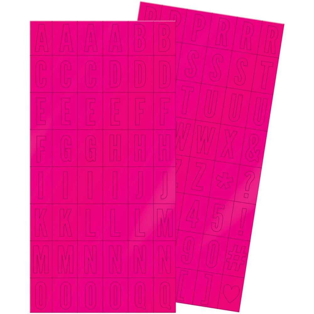 Autocollants Alphabets It Factor Block Stickers