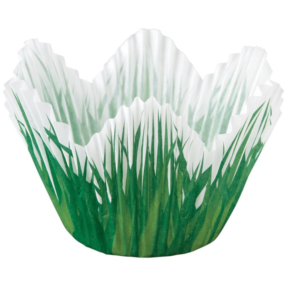 Petal Standart Baking Cups Grass