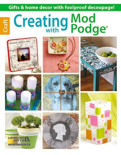 Livre Creating with Mod Podge