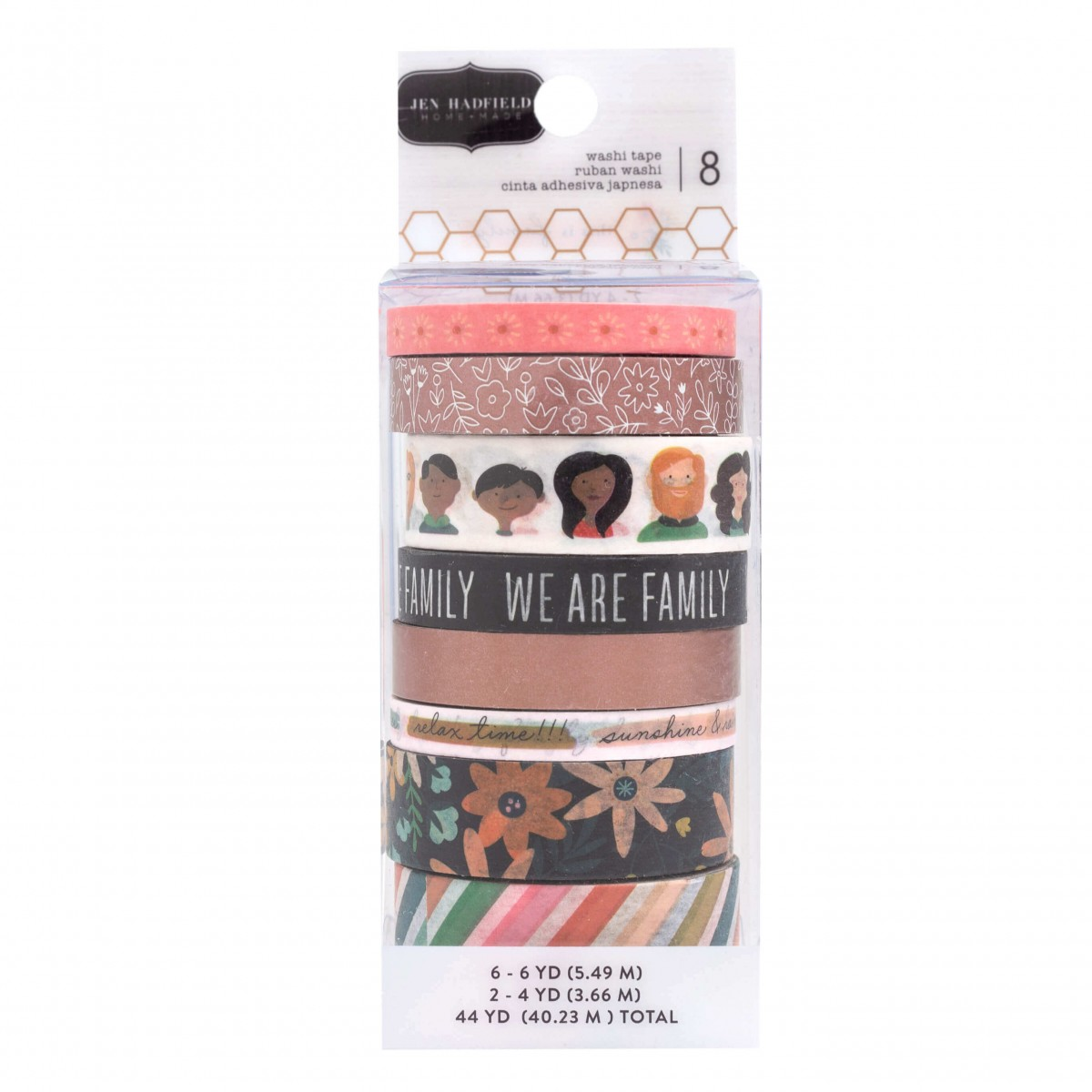 Lot de Washi Tape This Is Family
