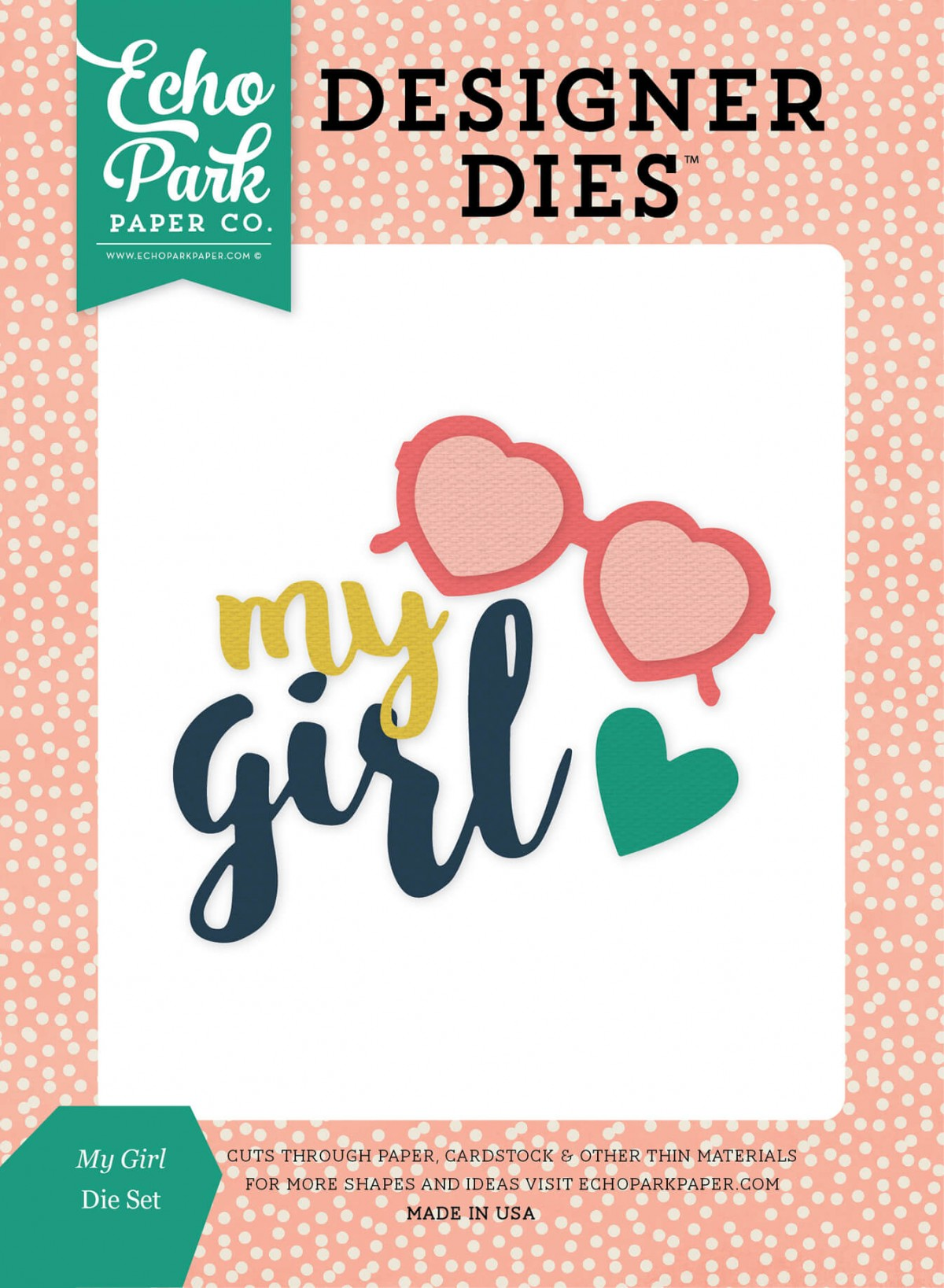 Matrice De Découpe Just Be You - My Girl