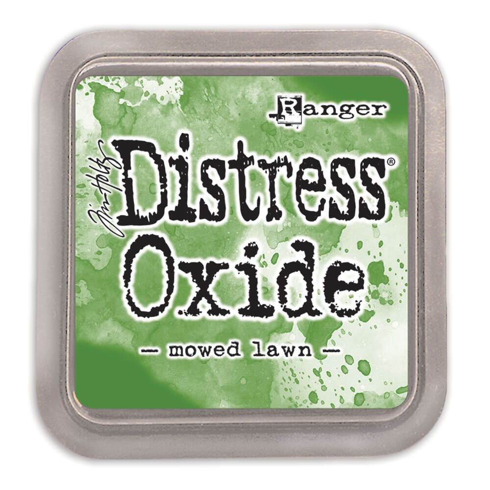 Encre Distress Oxide Ink - Mowed Lawn