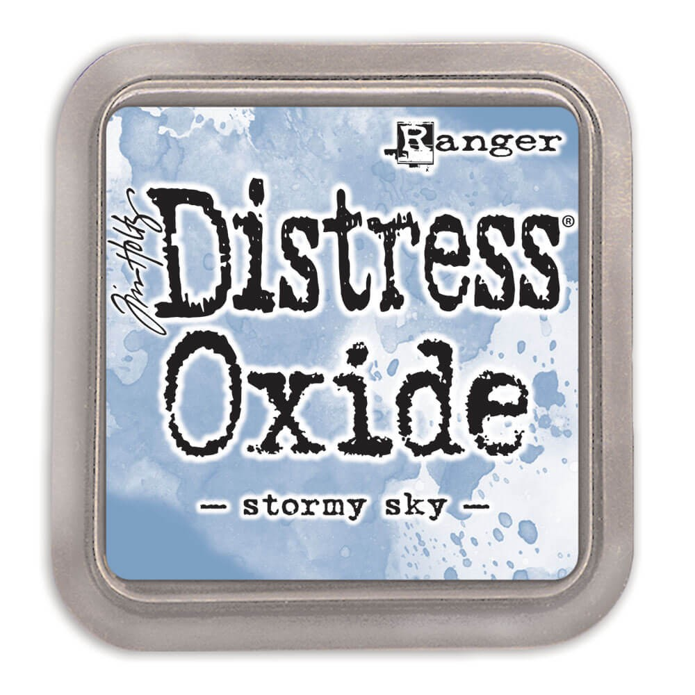 Encre Distress Oxide Ink Stormy Sky