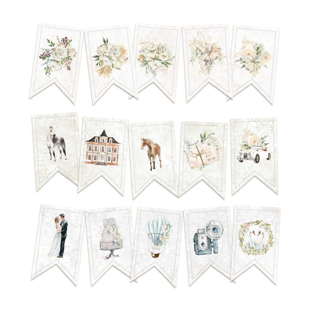 Die Cuts Truly Yours Garland