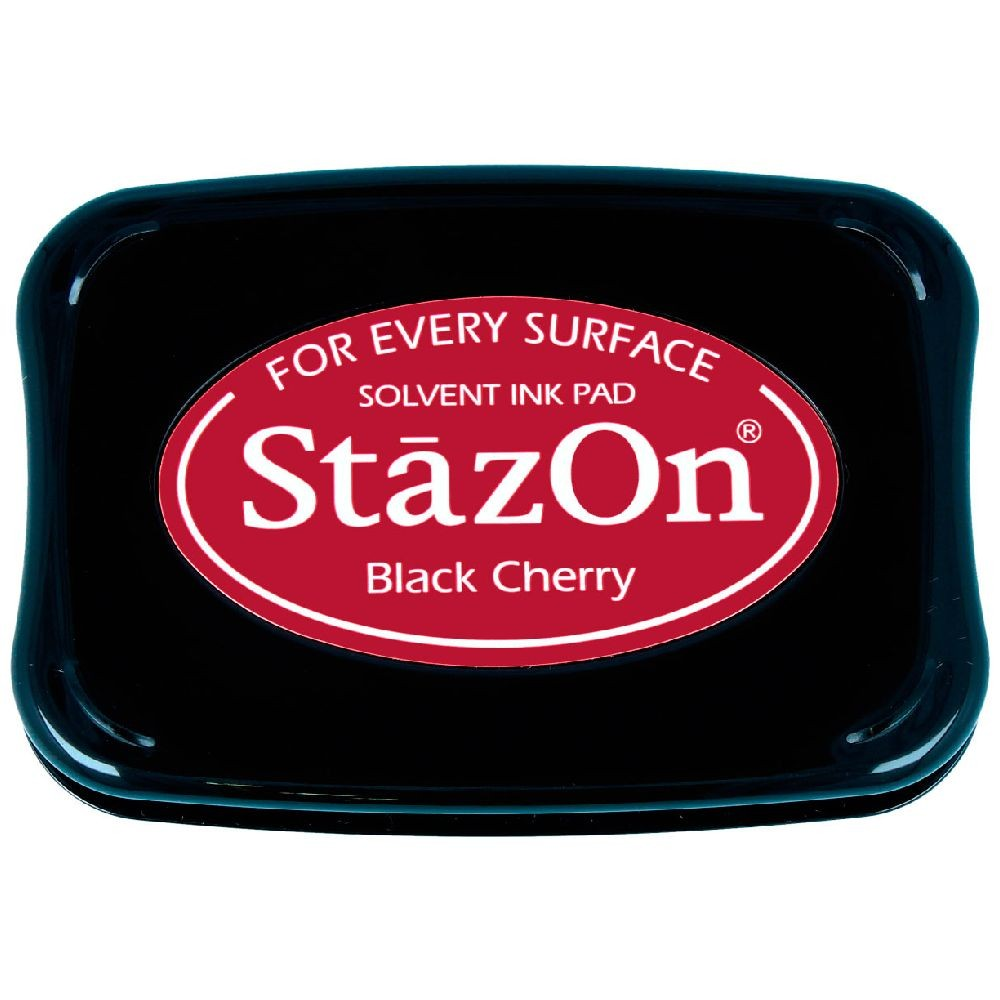 Encre StazOn Black Cherry