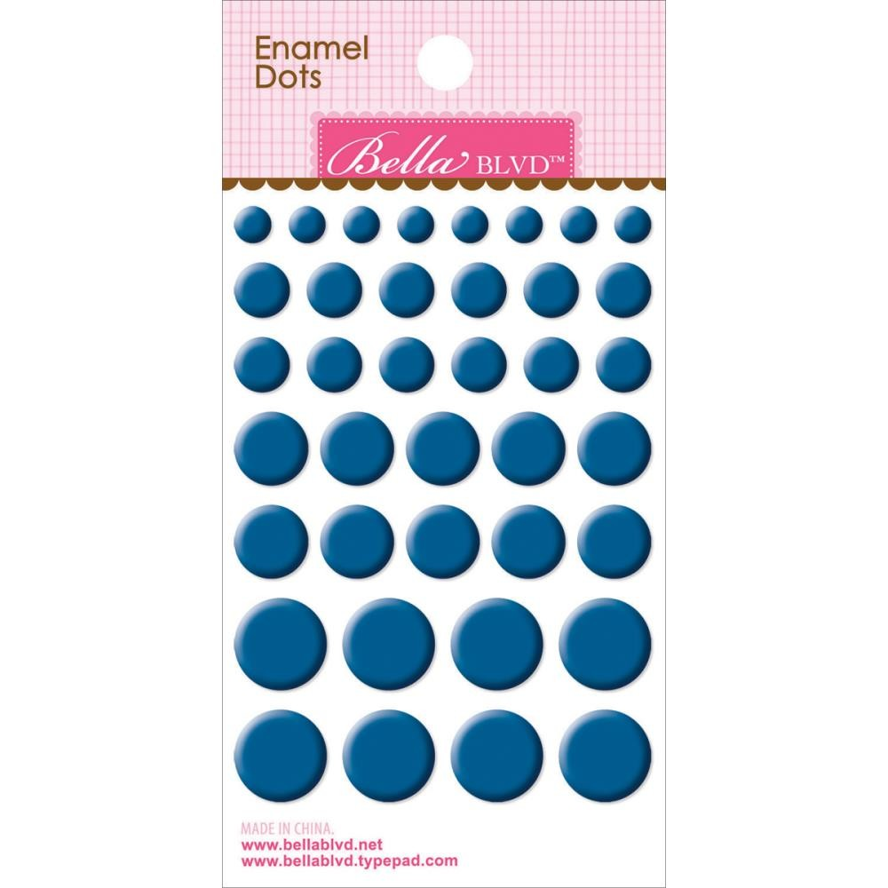 Enamel Blueberry Dots