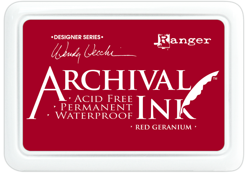 Encre Archival Ink Red Geranium