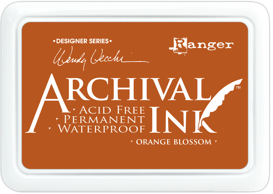 Encre Archival Ink Orange Blossom