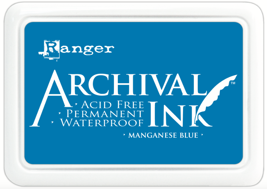 Encre Archival Ink Manganese Blue