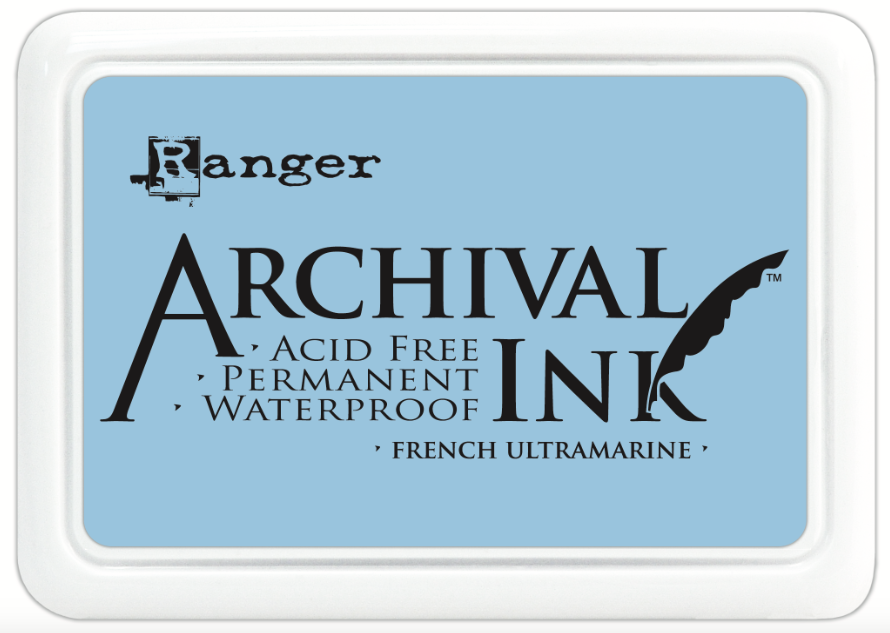 Encre Archival Ink French Ultramarine