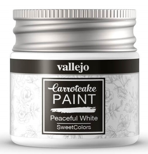 Peinture Acrylique Carrotcake - Peaceful White