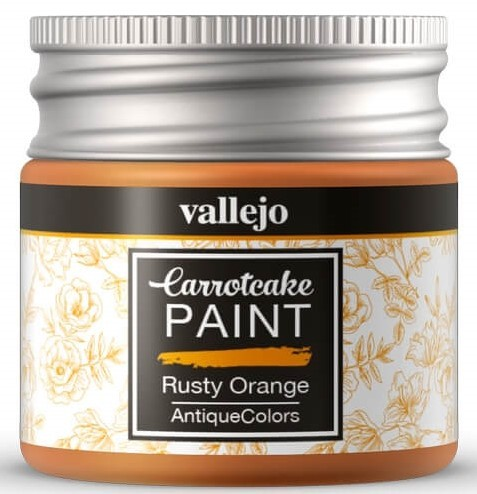 Peinture Acrylique Carrotcake - Rusty Orange