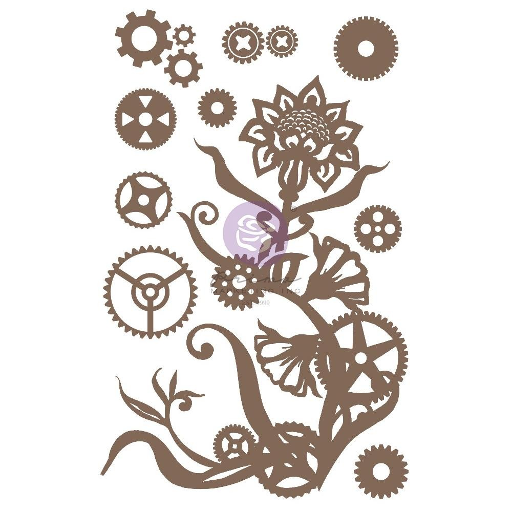 Chipboard Steampunk Flowers