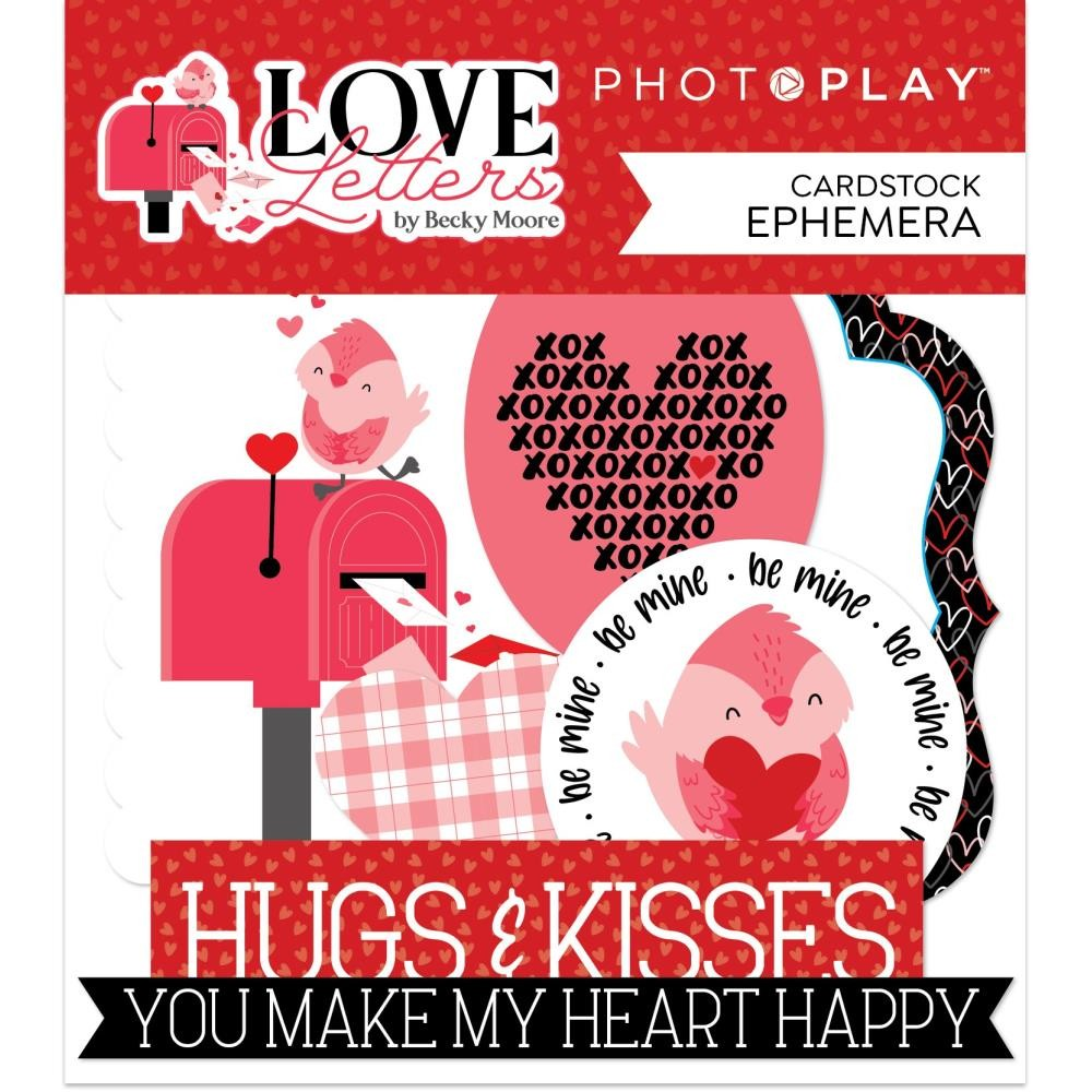 Die Cuts Love Letters