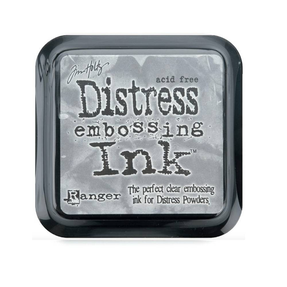 Encre Distress Ink Embossing Transparent
