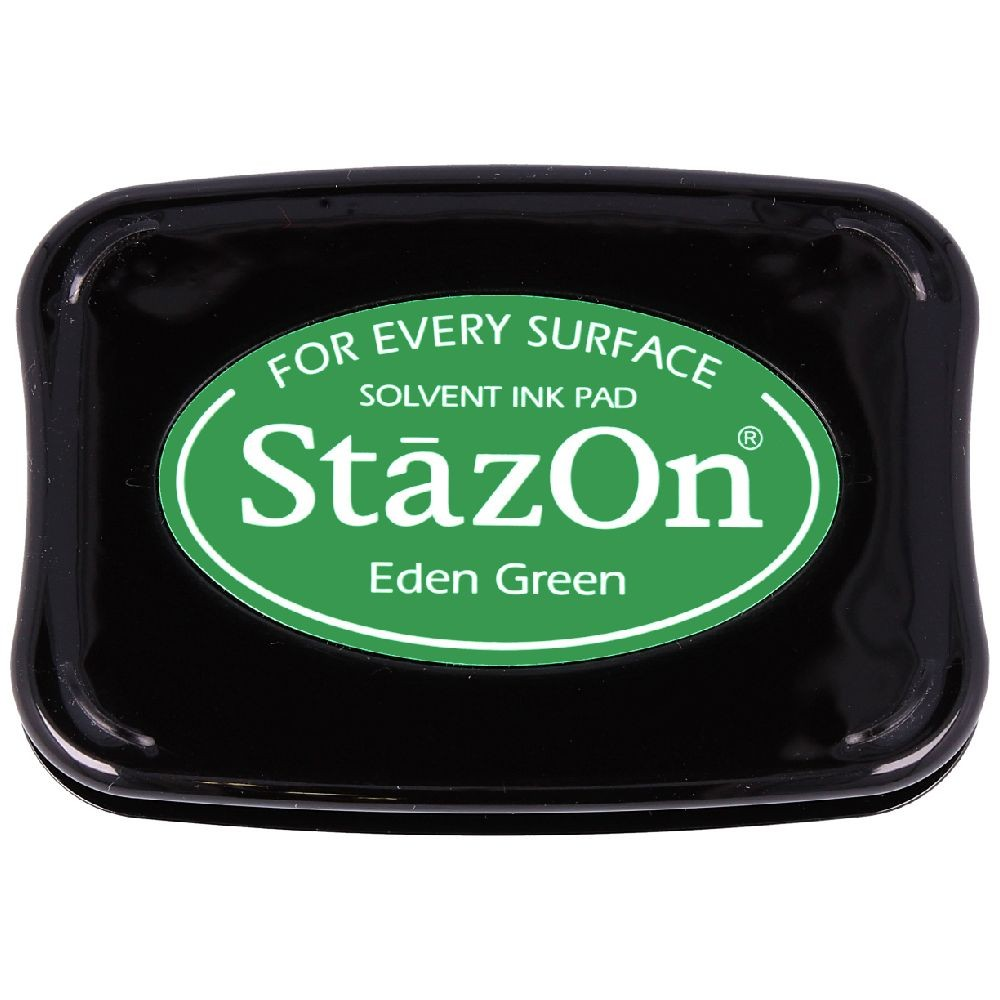 Encre StazOn Eden Green