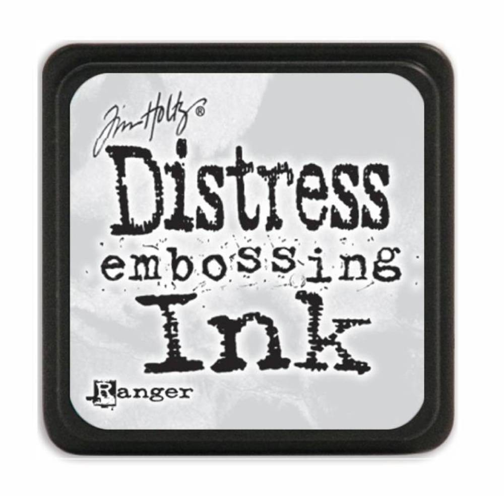Encre Mini Distress Ink Embossing Transparent