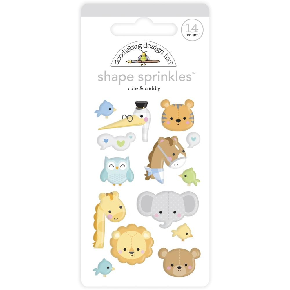 Enamel Dots Special Delivery DO Cute & Cuddly