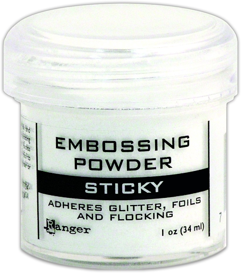 Poudre d'embossing Sticky