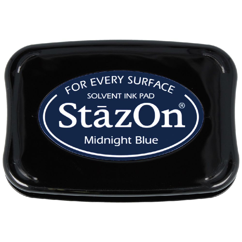 Encre StazOn Midnight Blue