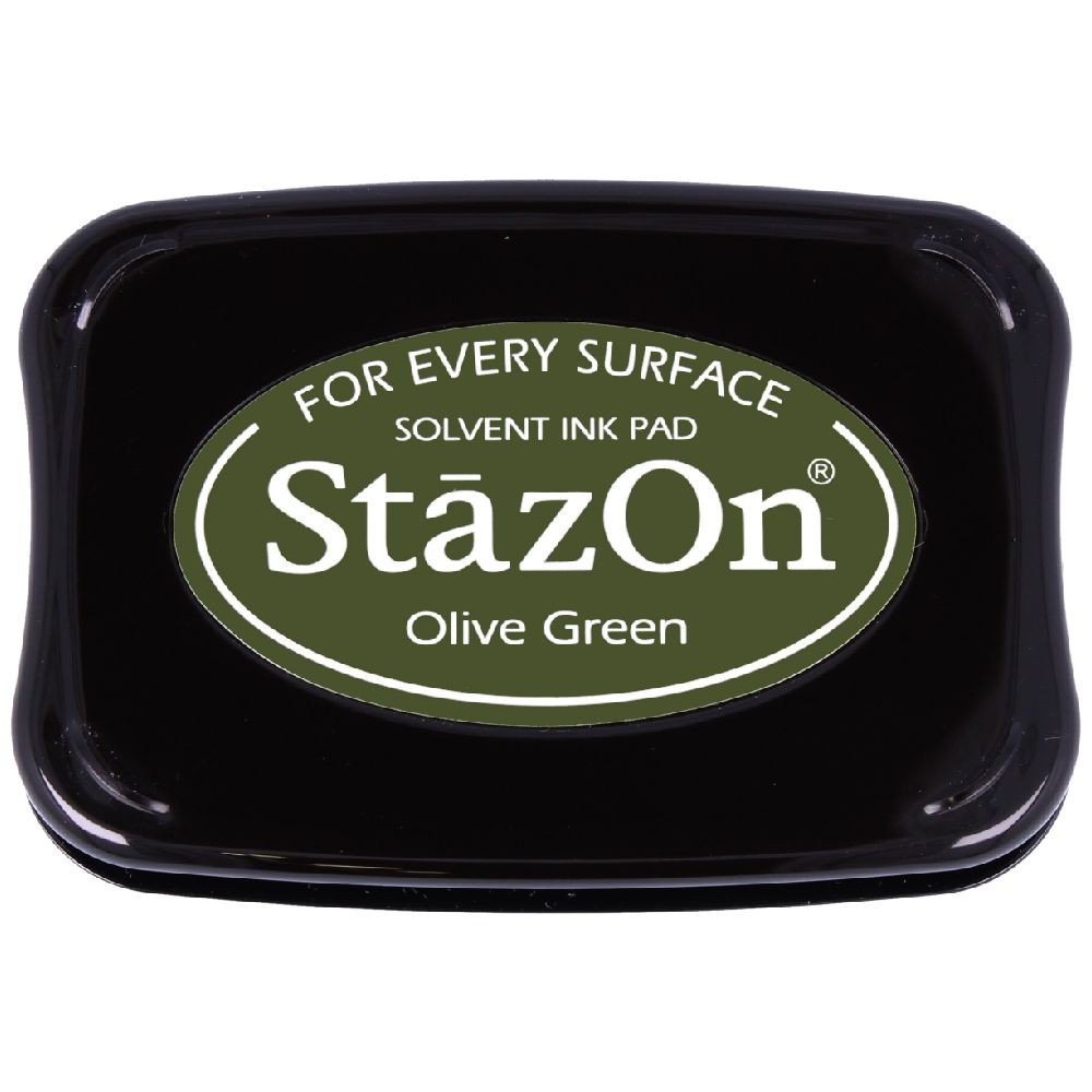 Encre StazOn Olive Green