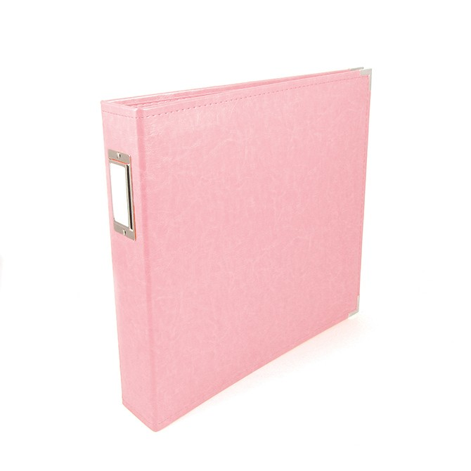 "Album 12"" x 12"" Faux Cuir Pretty Pink"
