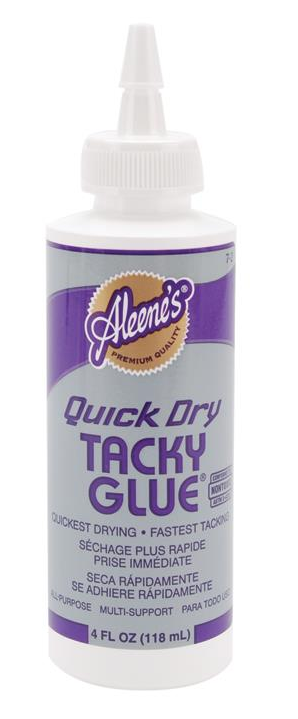 Colle Liquide Tacky Glue Quick Dry 4 oz