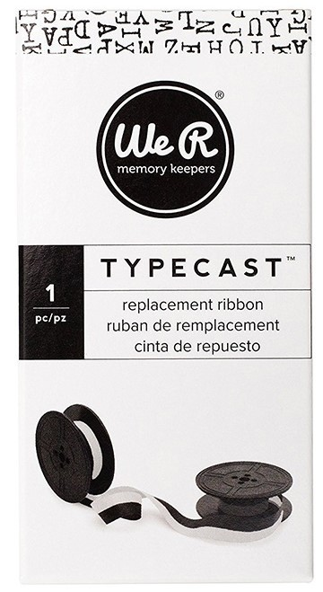 Rechange de ruban Typecast - White/Black