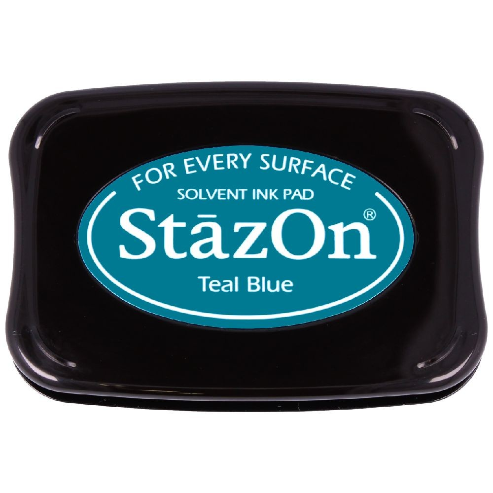 Encre StazOn Teal Blue